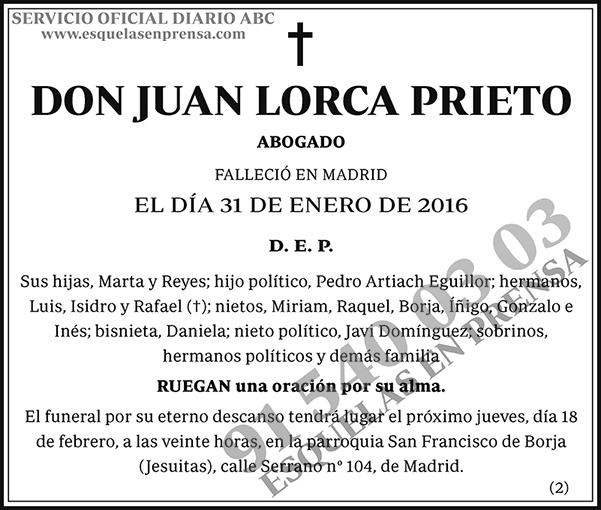 Juan Lorca Prieto